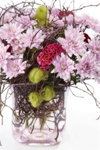 Linflowers Baltica Pink Arrangement