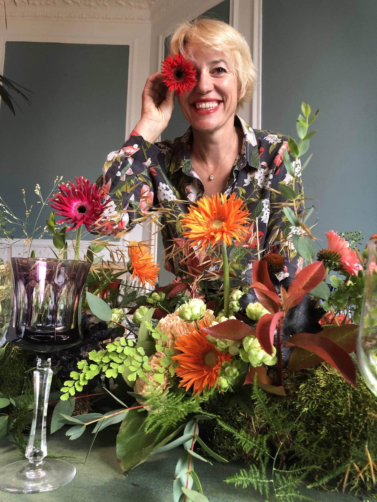 französische Floristin des Monats