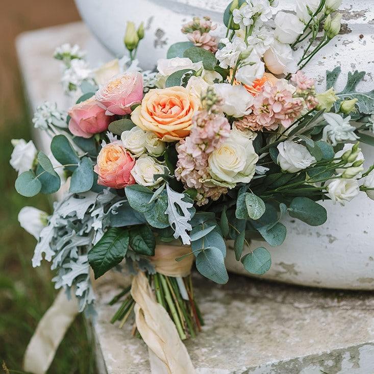 Bridal Bouquet Salmon